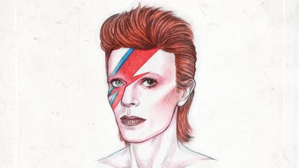 Eerbetoon aan David Bowie door prachtige illustraties