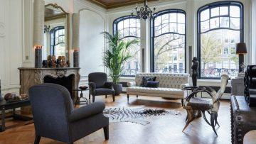 Oude bank omgetoverd tot het bruutste huis van Amsterdam