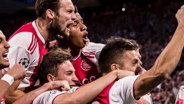 Ajax kan flink cashen wanneer ze vanavond winnen van Benfica