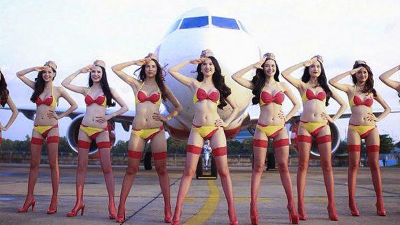 Deze Bikini Airline investeert $6.5 miljard in vliegtuigen en dansende stewardessen