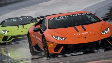 Een weekend vol brute wagens tijdens de Lamborghini Super Trofeo 2018 in Rome